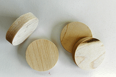 Tapered Side Grain Maple Stair Plugs | Bear Woods Supply