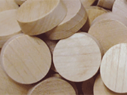 sidegrain furniture plugs, wood furniture plugs, sidegrain wood plugs | Bear Woods Supply
