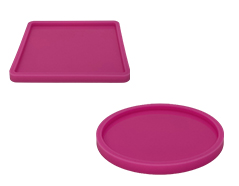Silicone molds for resin pouring