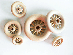 Spoked wheels, wooden wheels with spokes | Bear Woods Supply