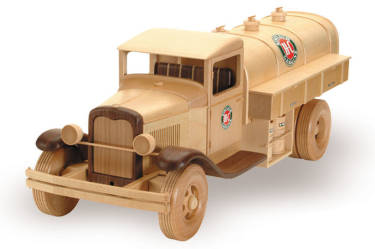 Woodworking Plans 1933 Gas and Oil Truck | Bear Woods Supply
