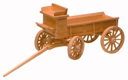 Woodworking Plans The Horse Drawn Wagon | Bear Woods Supply