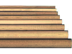 ash dowel rods, hardwood dowels, doweling, wooden dowel rods