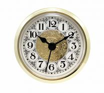 Fancy White Arabic Clock Insert 2-1/4 inch