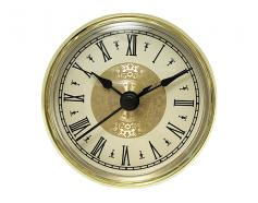 Fancy Ivory Roman Clock Insert 2-3/4inch