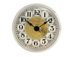Fancy White Arabic Clock Insert 2-7/8 inch