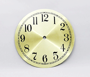 Gold Arabic Clock Dial 7"
