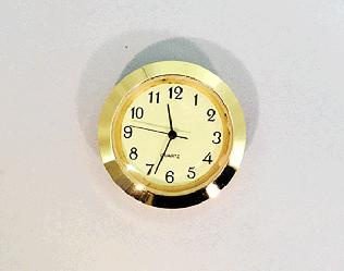 Mini Ivory Arabic Clock Insert | Bear Woods Supply