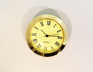 Mini Ivory Roman Clock Insert | Bear Woods Supply