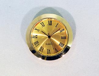 Gold Face Min Roman Clock Insert | Bear Woods Supply