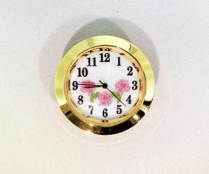 White-Pink Arabic Clock Insert | Bear Woods Supply