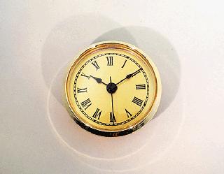Gold Face Roman Clock Insert | Bear Woods Supply