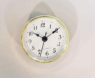 White Arabic Clock Insert | Bear Woods Supply