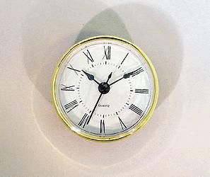 White Roman Quartz Clock Insert | Bear Woods Supply