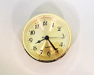 Gold Face Arabic Clock Insert | Bear Woods Supply