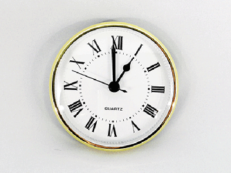 White Roman Clock Insert | Bear Woods Supply