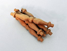Cherry Furniture Spindle 3-1/2 inch | Bear Woods Supply