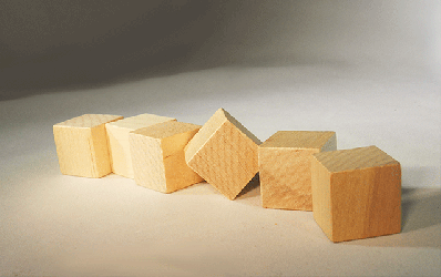 CU-087 Wood Cubes | Bear Woods Supply