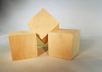 CU-175 Wood Cubes | Bear Woods Supply