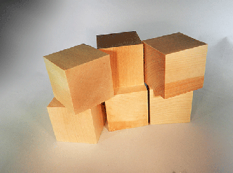 CU-200 Wood Cubes | Bear Woods Supply