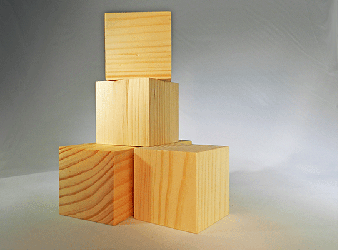 Wood Blocks And Drilled Wooden Cubes Bear Woods Canada