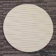 Round Sculpted Panel - Dune