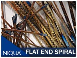 Niqua Blades Spiral Flat Ends