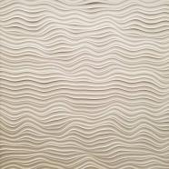 Square Sculpted Panel - Flow