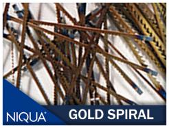 Niqua Spiral Blades Gold