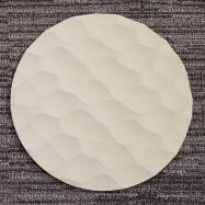 Round Sculpted Panel - Hive