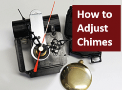 How to set Westminster chime clocks
