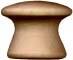 Mushroom knob 1 inch
