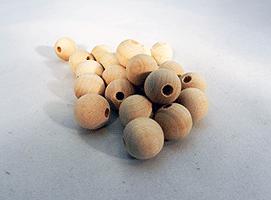 Wood Craft Bead 9/16 inch | Bear Woods Supply