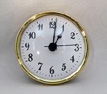 White Arabic Premium Clock Insert  | Bear Woods Supply