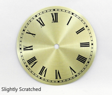 Slightly Scratched Clock Dial | Bear Woods Supply