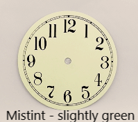 Mistint Clock Dial | Bear Woods Supply