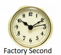 Factory Second Clock Insert | Bear Woods Supply