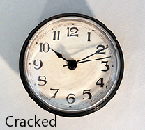 Cracked Clock Insert | Bear Woods Supply