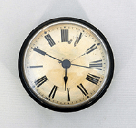 antique style ivory roman clock fitups