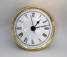 White Roman Premium Clock Insert  | Bear Woods Supply