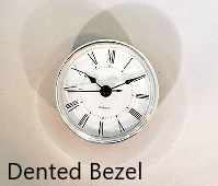 Dented Clock Insert | Bear Woods Supply