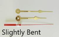 Slightly Bent Clock Hands | Bear Woods Supply