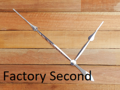 Factory Second Clock Hands | Bear Woods Supply