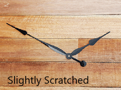 Slightly Scratched Clock Hands   Bear Woods Supply