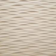 "8"" Square Sculpted Panel - Ribbon"