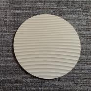 Round Sculpted Panel - Ridge