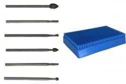 Rotary Tool Carving Bits and Burs Pack