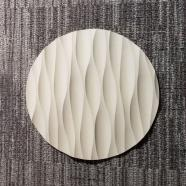"""8"""" Round Sculpted Panel - Frequency"""