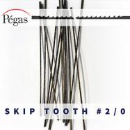 Skip Tooth Blades number 2/0 by Pegas