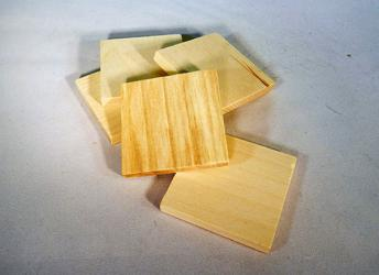 "2"" Wooden Tiles 